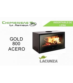 INSERTABLE GOLD 800 ACERO