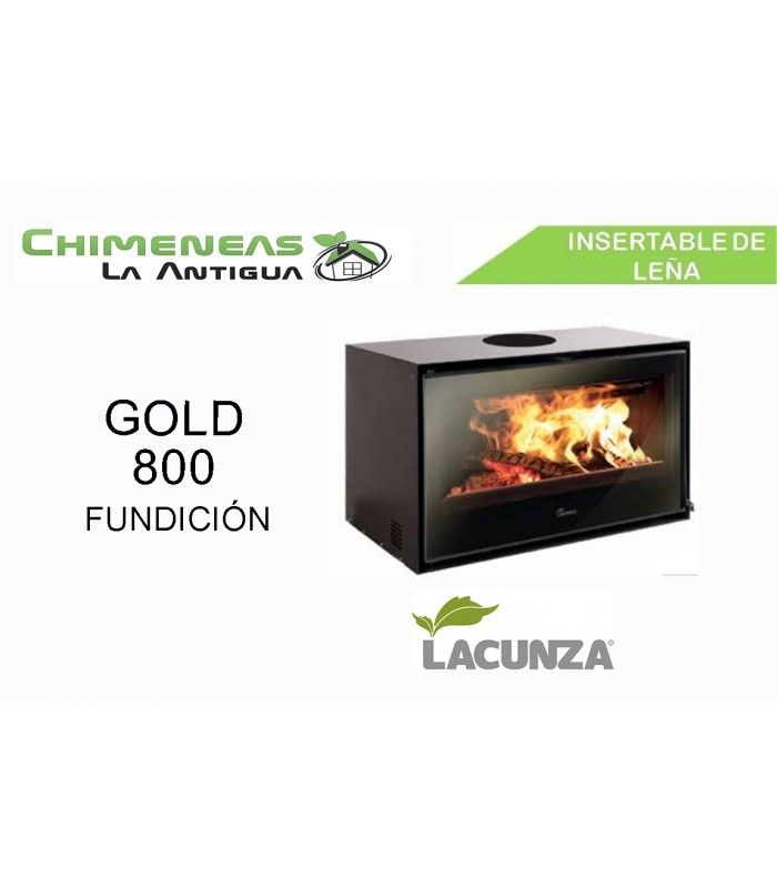 INSERTABLE GOLD 800 FUNDICIÓN
