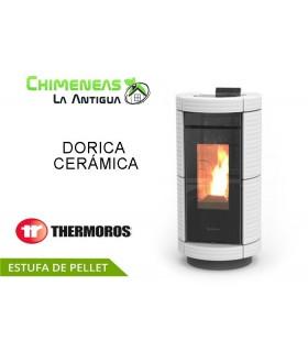 ESTUFA DE PELLET DORICA CERÁMICA