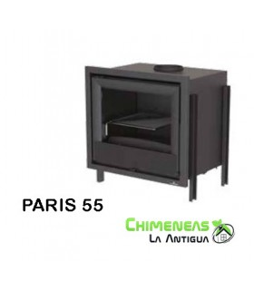 INSERTABLE DE LEÑA PARIS 55