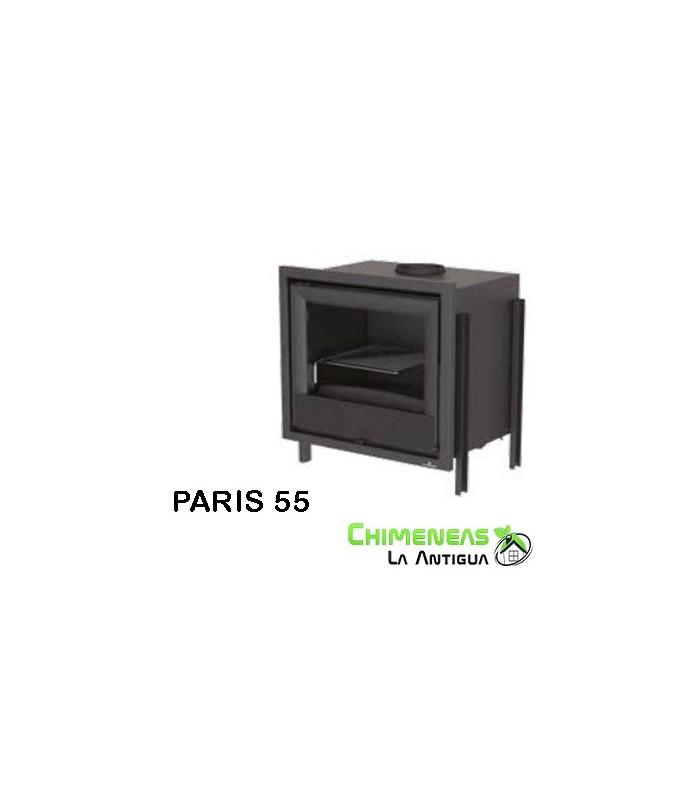 INSERTABLE DE LEÑA PARIS 55