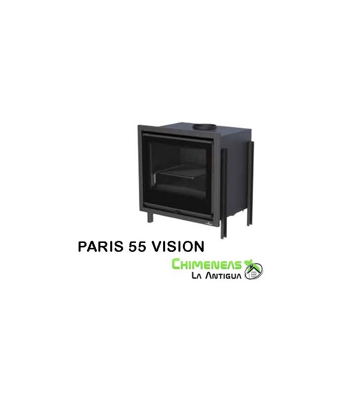 INSERTABLE DE LEÑA PARIS 55 VISION