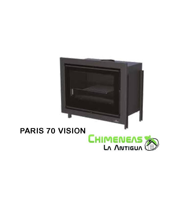 INSERTABLE DE LEÑA PARIS 70 VISION