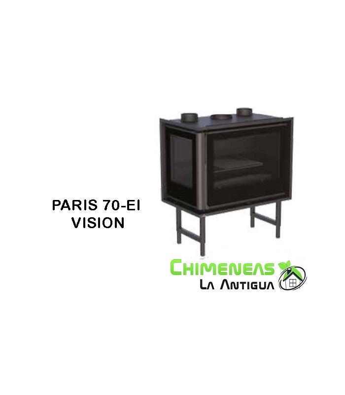 INSERTABLE DE LEÑA PARIS 70-EI VISION