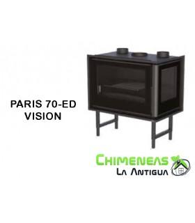 INSERTABLE DE LEÑA PARIS 70-ED VISION