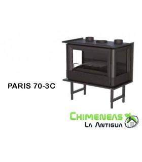 INSERTABLE DE LEÑA PARIS 70-3C