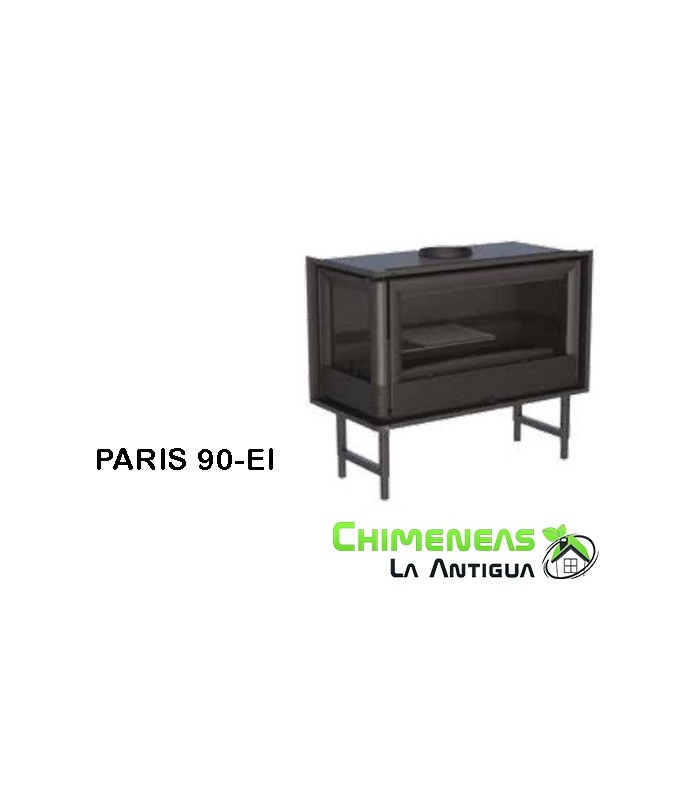 INSERTABLE DE LEÑA PARIS 90-EI