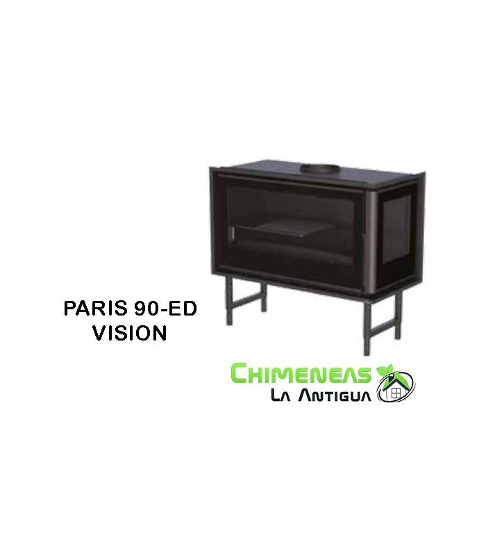 INSERTABLE DE LEÑA PARIS 90-ED VISION