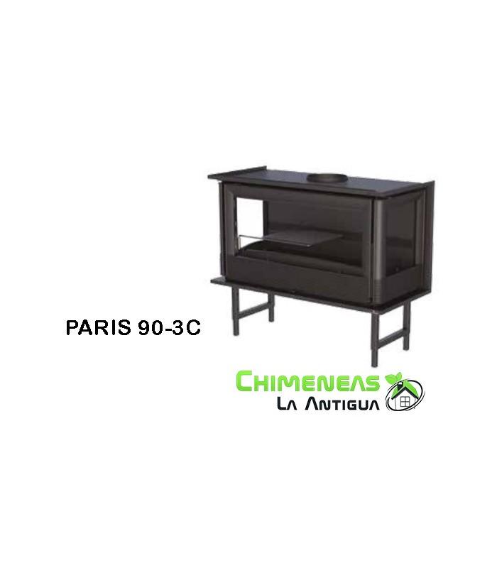 INSERTABLE DE LEÑA PARIS 90-3C