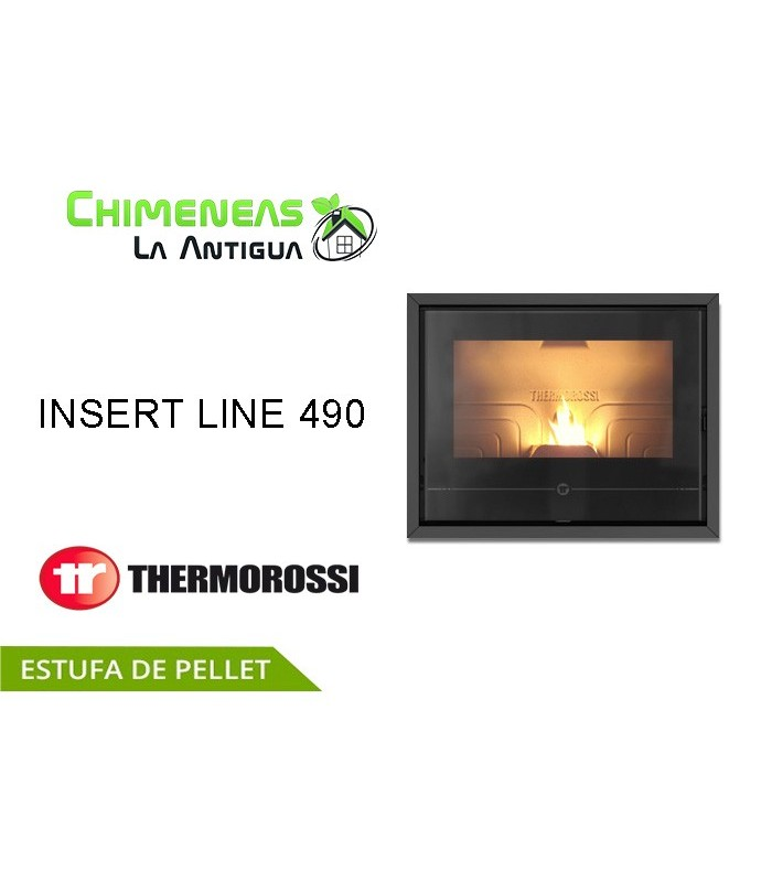 INSERTABLE DE PELLET INSERT LINE 490