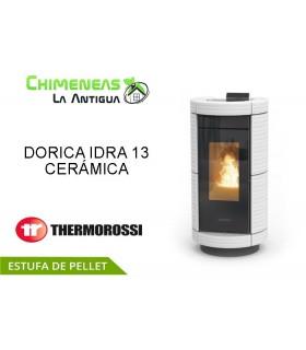 ESTUFA DE PELLET DORICA IDRA 13 CERÁMICA