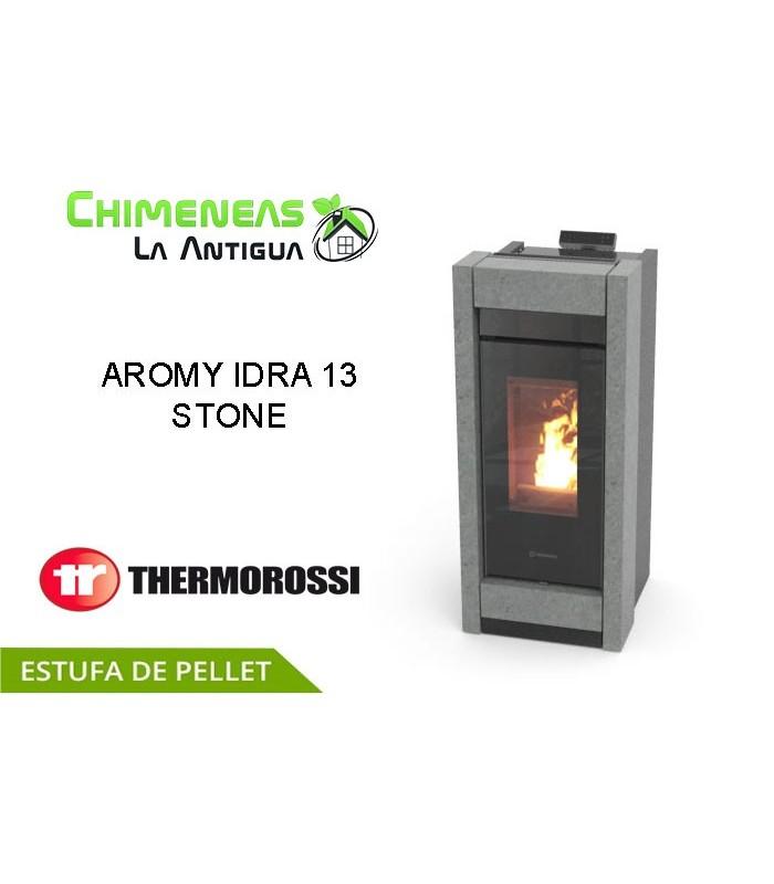 ESTUFA DE PELLET AROMY IDRA 13 STONE