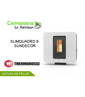 ESTUFA DE PELLET SLIMQUADRO 9 SUNDECOR