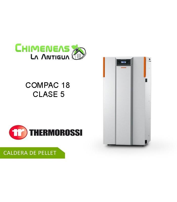 CALDERA DE PELLET COMPAC 18 CLASE 5