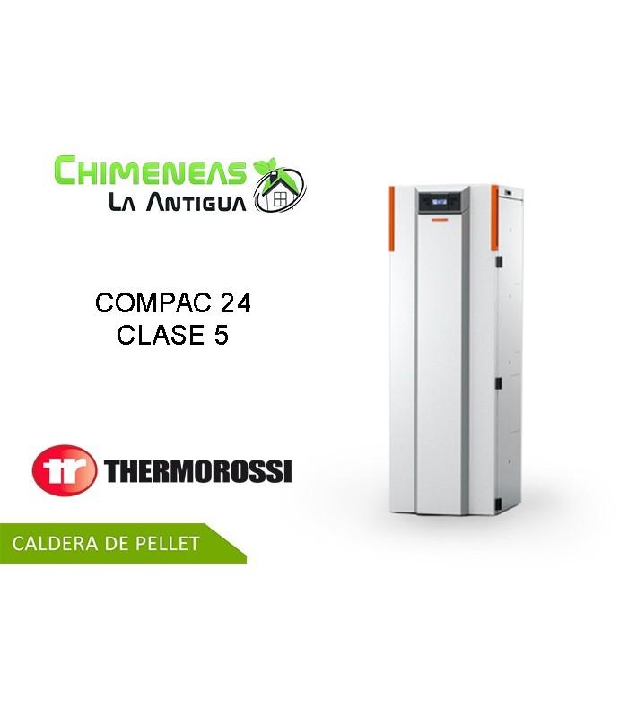 CALDERA DE PELLET COMPAC 24 CLASE 5