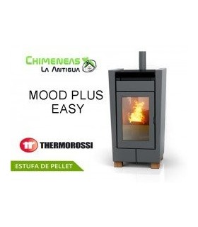 ESTUFA DE PELLET MOOD PLUS EASY