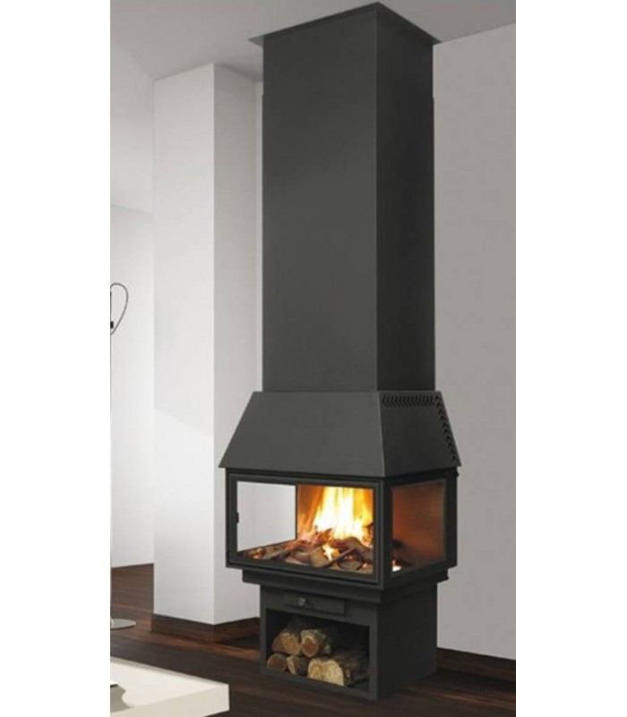 CHIMENEA METÁLICA FRONTAL POWER VISION 270 C1