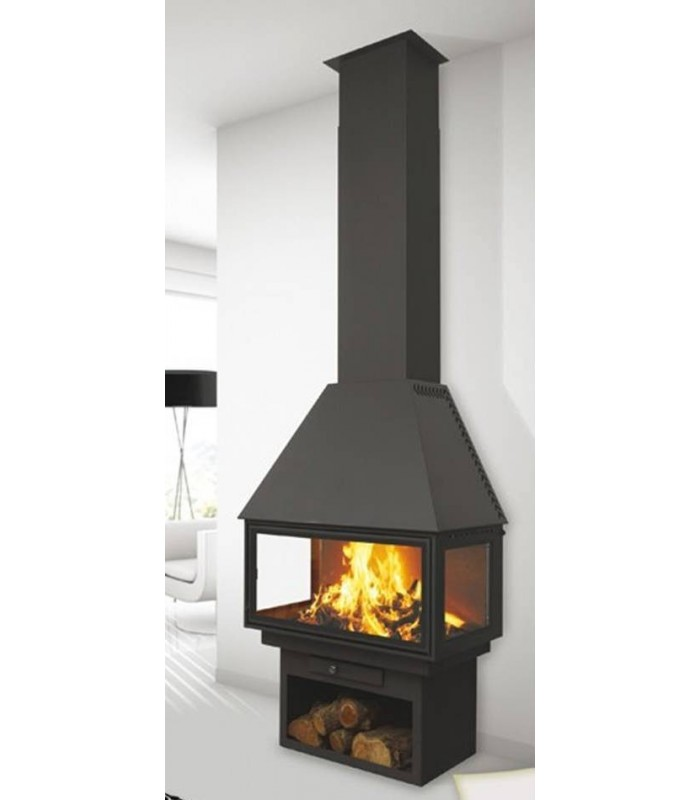 CHIMENEA METÁLICA FRONTAL POWER VISION 270 C3