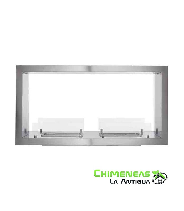 CHIMENEA A ETANOL BI-SIDE HORIZONTAL 130
