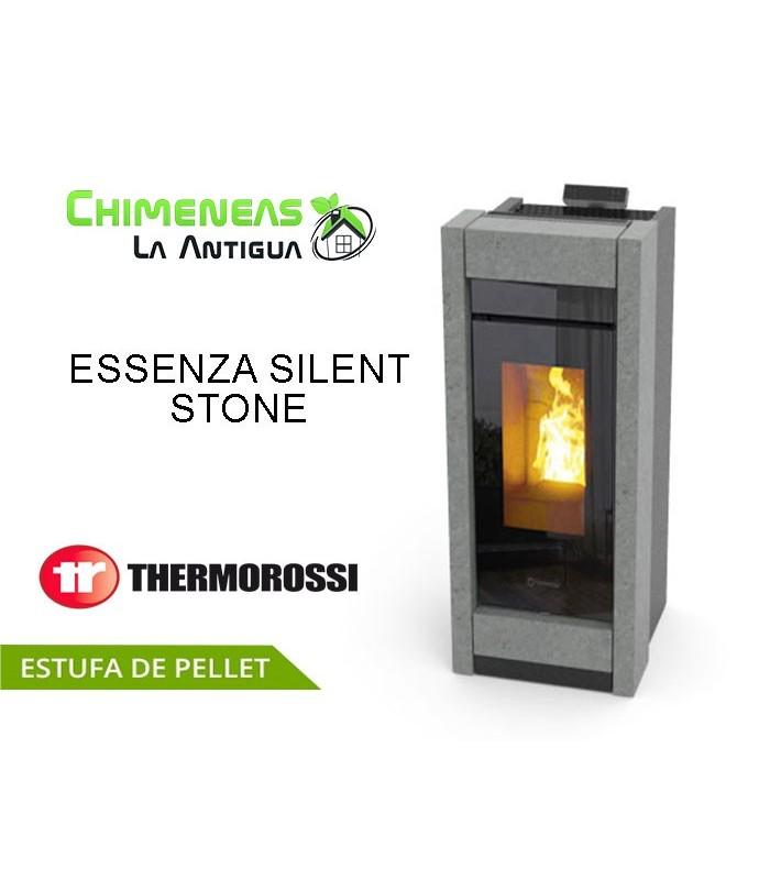 ESTUFA DE PELLET ESSENZA SILENT STONE