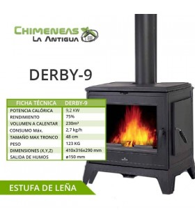 ESTUFA DE FUNDICIÓN DERBY-9