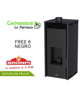 ESTUFA DE PELLET SIN ELECTRICIDAD FREE 6