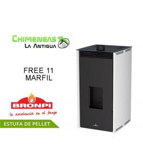 ESTUFA DE PELLET SIN ELECTRICIDAD FREE 11