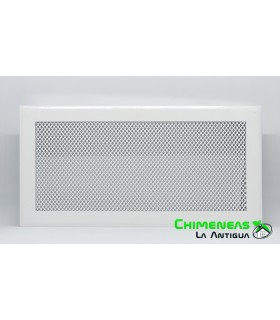 REJILLA M-D SIMPLE 15X30 BLANCA