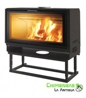 CHIMENEA DE LEÑA SCREEN UP 100
