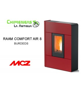 ESTUFA DE PELLET RAAM COMFORT AIR 8 UP