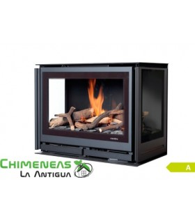 INSERTABLE DE GAS SQUARE 60G TRILATERAL (GAS NATURAL)