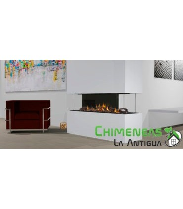 CHIMENEA DE GAS DANTA 1100 CUATRO CARAS