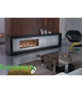 CHIMENEA GAS LEO 100 FRONTAL (GAS NATURAL)