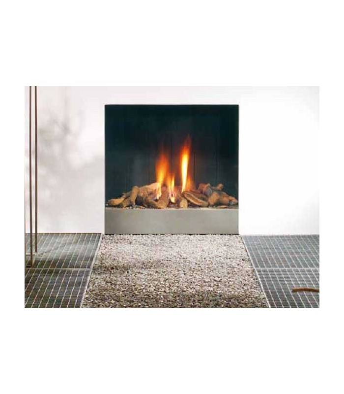 CHIMENEA A GAS SPECTRA FRAMELESS (LOG BURNER)
